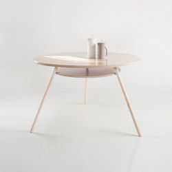 Italic 2-Tier Dining Table | Mesas comedor | Yield