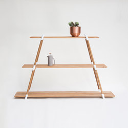 Italic A-Frame Shelving Unit | Regale | Yield