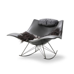 Stingray Rocking Chair | Loungesessel | Fredericia Furniture