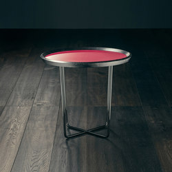 Saint Ouen – ABSINTHE Round High Coffee Table | Side tables | GIOPAGANI