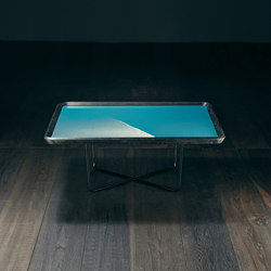 Saint Ouen – ABSINTHE Square Coffee Table | Coffee tables | GIOPAGANI