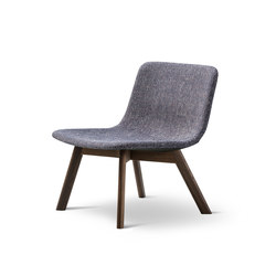 Pato Lounge Wood Base | Fauteuils | Fredericia Furniture
