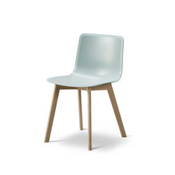 Pato Wood Base | Chaises | Fredericia Furniture