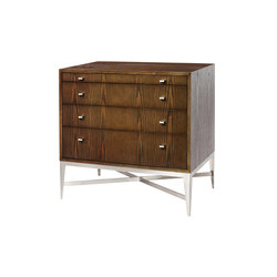 Plateau Nightstand 4-Drawer | Mesillas de noche | Powell & Bonnell