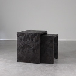 Galante Nested Crocodile Tables | Side tables | Pfeifer Studio