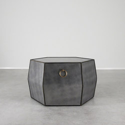 Mayfair Leather Cocktail Table | Side tables | Pfeifer Studio