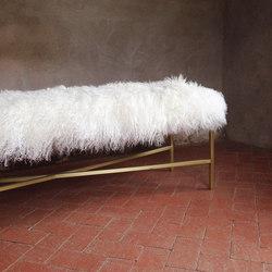Wilshire Mongolian Bench | Waiting area benches | Pfeifer Studio