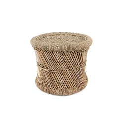 Authentic Indian Mooda Stool | Tabourets | Pfeifer Studio