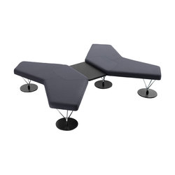Chemistry 67001 | 67002 | 67004 | Modular seating elements | Keilhauer
