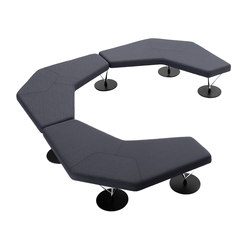 Chemistry 67001   67002   Modular seating elements   Keilhauer