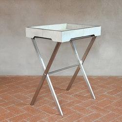 Gramercy Cowhide Tray Table | Side tables | Pfeifer Studio