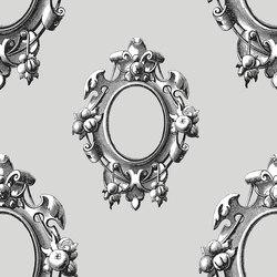 Versailles - Granite | Carta parati / tappezzeria | Tenue de Ville
