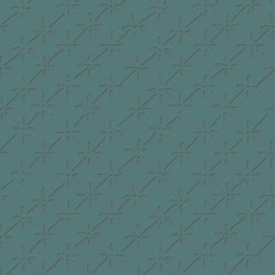 Victoria - Teal | Wall coverings / wallpapers | Tenue de Ville