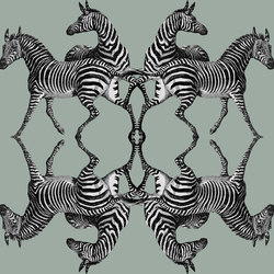Zebra - Riviera | Wall coverings / wallpapers | Tenue de Ville