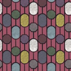 Este - Raspberry | Wall coverings | Tenue de Ville