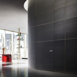Orizzonte | Boiserie system and Skirting system | Wall panels | Linvisibile