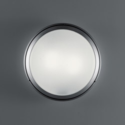 Pantarei 390 glass silver grey | Outdoor wall lights | Artemide Architectural