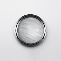 Pantarei 190 glass silver grey | Outdoor wall lights | Artemide Architectural