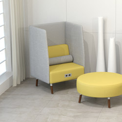 Laguna single seat | Divani lounge | ERG International
