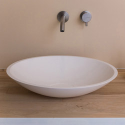 Bowl 1.1 | Round wash bowl with invisible siphon | Wash basins | COCOON