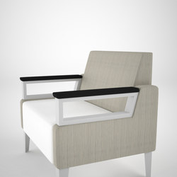Malibu Straight Unity with Privacy Panel | Lounge chairs | ERG International