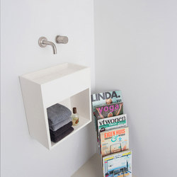 Sant Jordi II | Toilet basin with shelf | Lavabos | COCOON