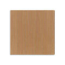 Ideacustic | High 16 | Wood panels | IDEATEC