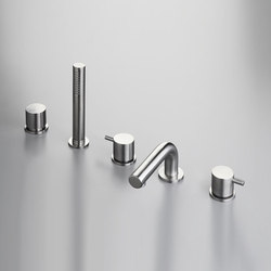 MONO SET44 | Deck mounted bath set | Bath taps | COCOON