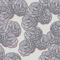 Blossom - Violette | Carta parati / tappezzeria | Tenue de Ville
