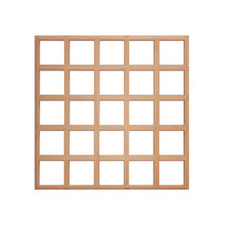 Ideawood | Grid | Wood panels | IDEATEC