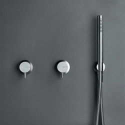 MONO SET28 | Shower set with 2 mixers | Shower controls | COCOON