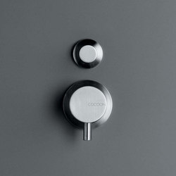 MONO 02 | Shower/bath mixer with diverter | Wash-basin taps | COCOON