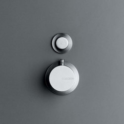 MONO 02THERM | Thermostatic shower/bath mixer with diverter | Wash-basin taps | COCOON