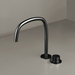 PB SET11 | Deck mounted basin mixer with swivel spout | Wash basin taps | COCOON