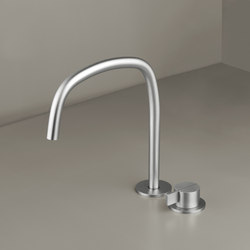 PB SET11 | Deck mounted basin mixer with swivel spout | Grifería para lavabos | COCOON