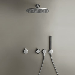PB SET22 | Complete build-in rain shower set | Shower controls | COCOON