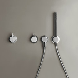 PB SET23 | Wall mounted shower set | Grifería para duchas | COCOON