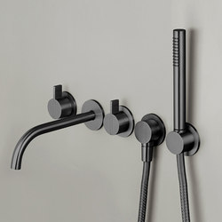 PB SET24 | Wall mounted complete bath set | Shower controls | COCOON