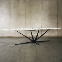 Agave Marble Dining Table | Tables de restaurant | Luteca