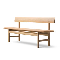 Mogensen Bench | Bancs d'attente | Fredericia Furniture
