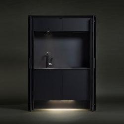 Affilato Hide | Compact kitchens | Sanwa Company