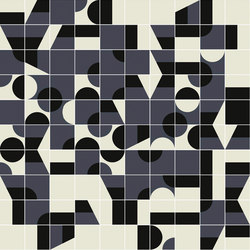 Puzzle Schema 1 pattern | Ceramic tiles | Ceramiche Mutina
