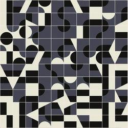 Puzzle Schema 2 pattern | Floor tiles | Ceramiche Mutina