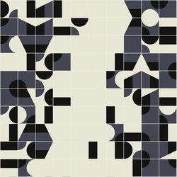 Puzzle Schema 7 pattern | Floor tiles | Ceramiche Mutina