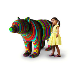 Black Bear | Play furniture | Yellow Goat Design