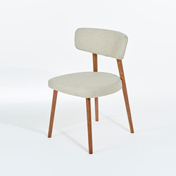 Marlon Upholstered Dining Chair | Sedie visitatori | AXEL VEIT