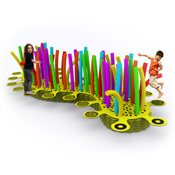 Caterpillar Bouncer | Play furniture | Yellow Goat Design