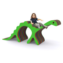 Denni The Dino HPL | Play furniture | Yellow Goat Design