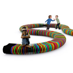 Rainbow Serpent | Kids benches | Yellow Goat Design