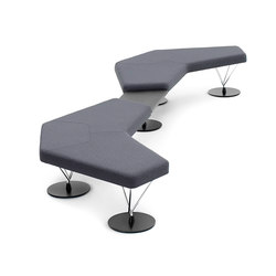 Chemistry 67001 | 67002 | 67005 | Modular seating elements | Keilhauer